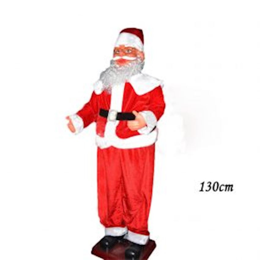 Musical Dancing Giant Santa Claus 130cm Christmas Decoration Supplies
