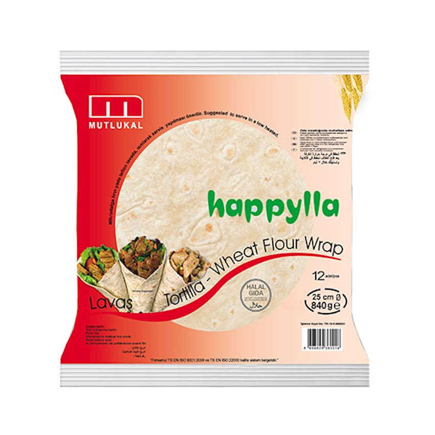 Mutlukal Food Plain Tortillas