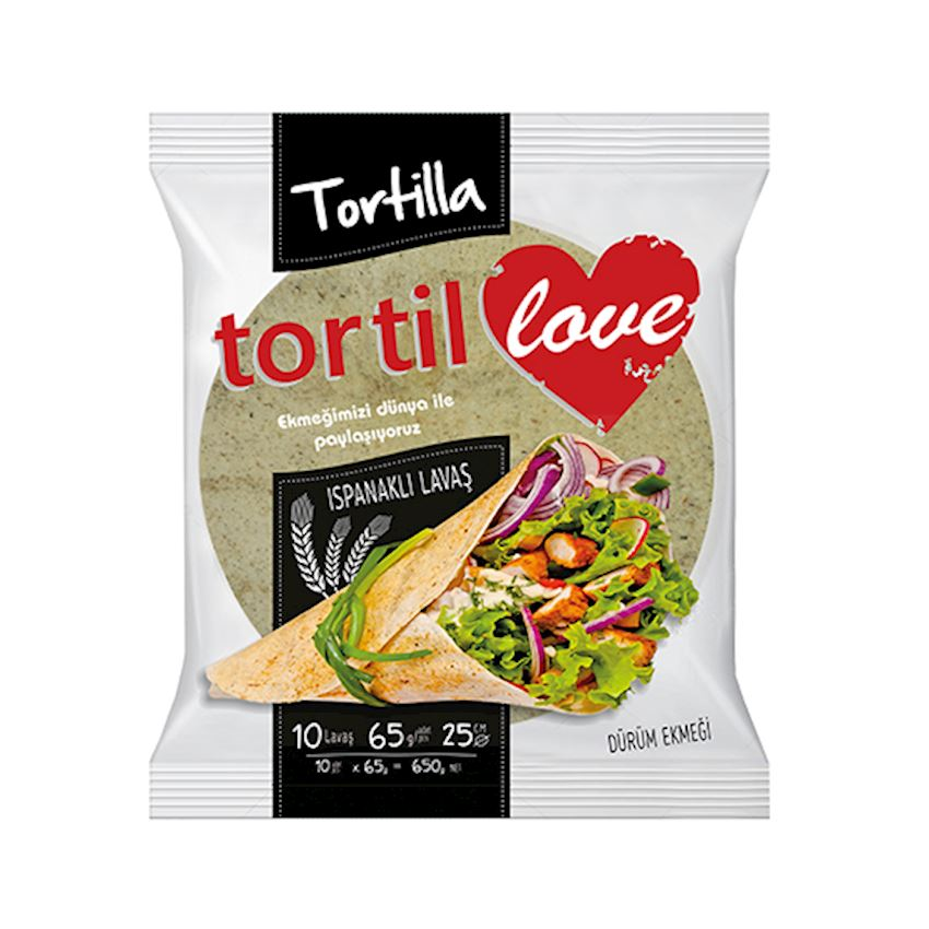 Mutlukal Food Tortillas With Spinach