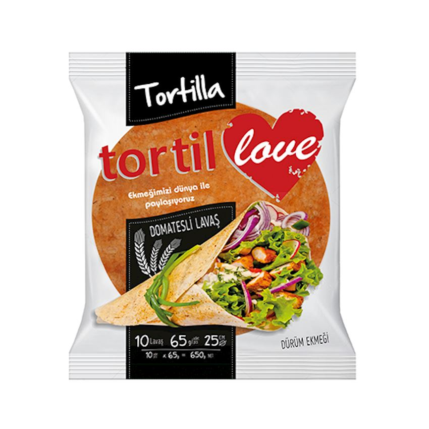 Mutlukal Food Tortillas With Tomatoes