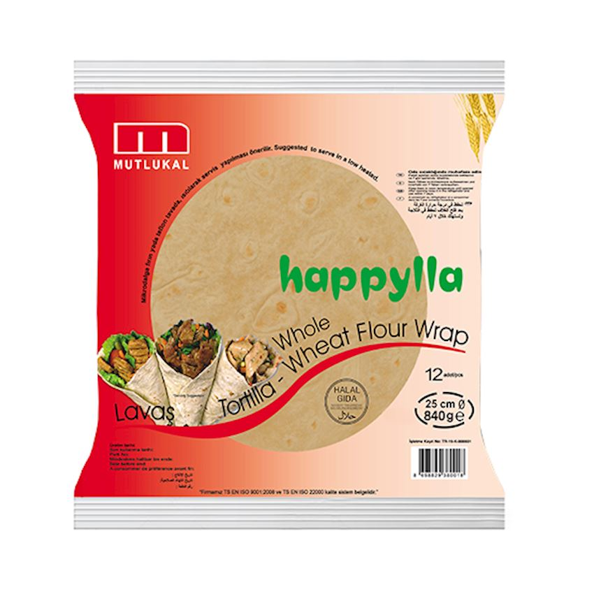 Mutlukal Food Whole Wheat Tortillas