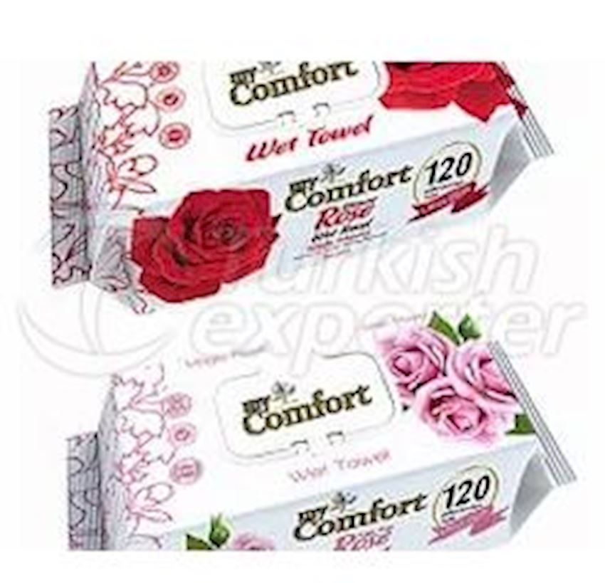 My Comfort Rose Wet Wipes