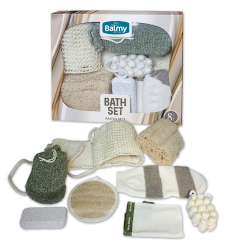 Natural Bath Set Bath Brushes, Sponges & Scrubbers