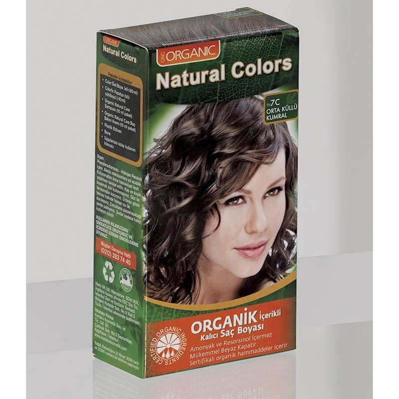 Natural Colors Organic Hair Dye