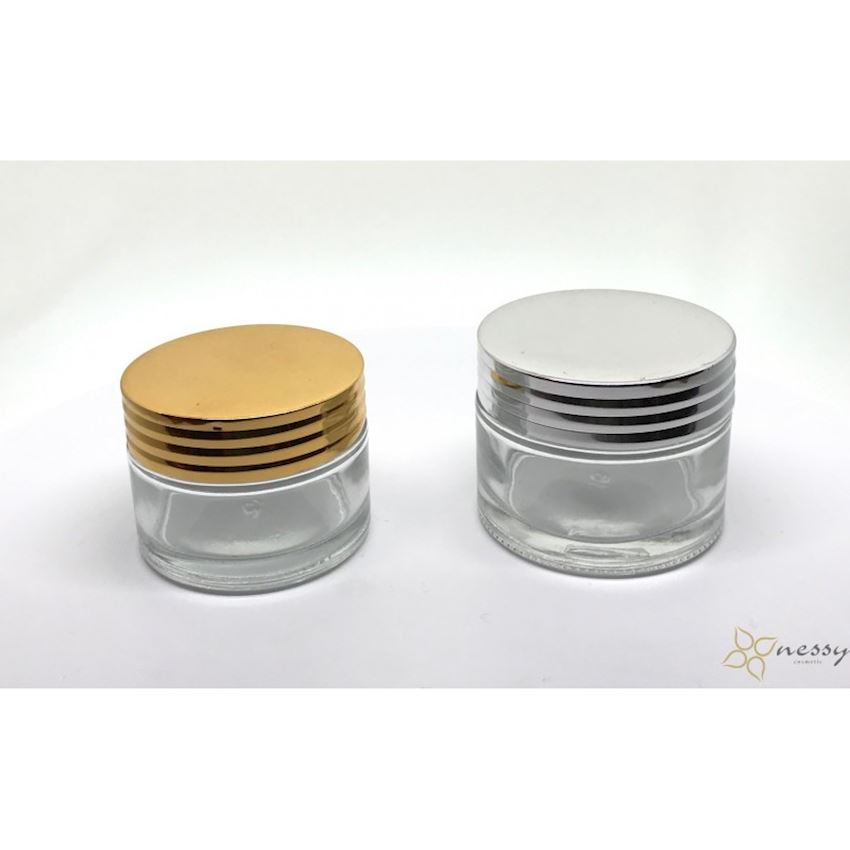 NESSY 30gr and 50gr Cream Jar Lids, Bottle Caps, Closures