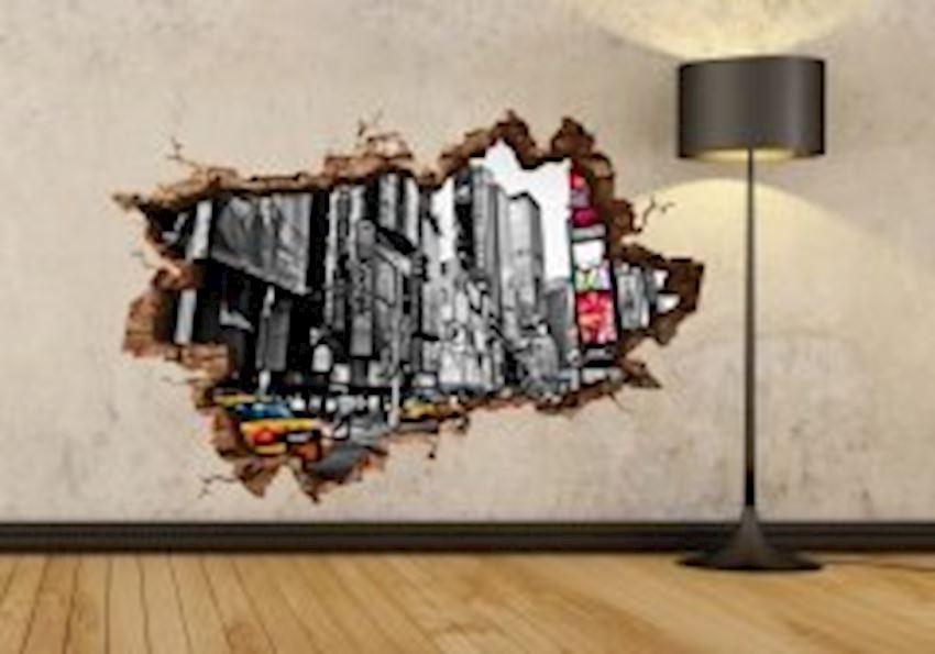 New York Taxi 3D Sticker