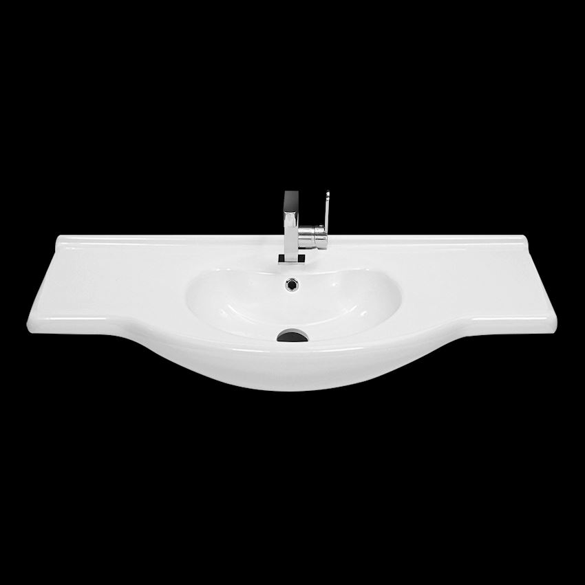 Nil Washbasin, 105 cm Bathroom Sinks