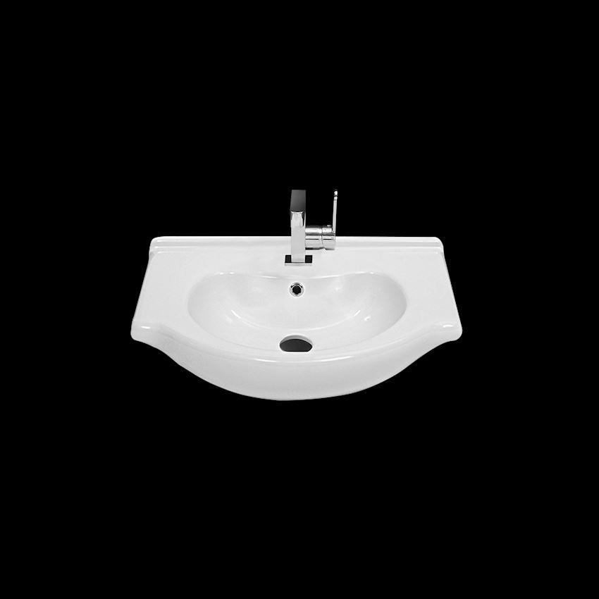 Nil Washbasin, 55 cm Bathroom Sinks