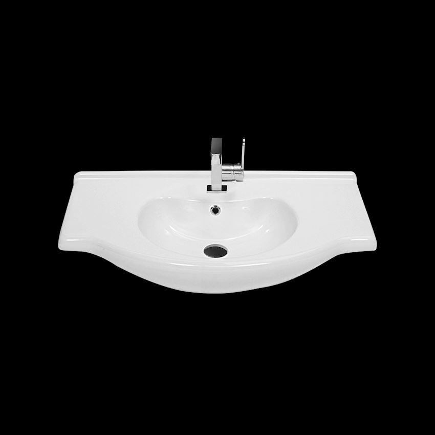 Nil Washbasin, 85 cm Bathroom Sinks