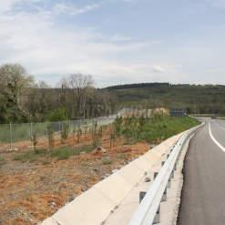 North Marmara Motorway Route - Fence