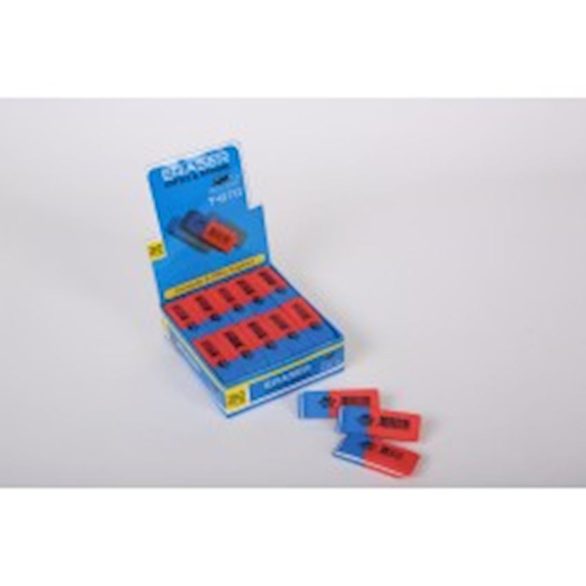 Office Eraser_ Red Blue Eraser