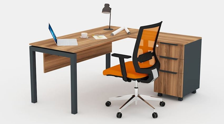 Office Furniture Galaxy Manager Desk