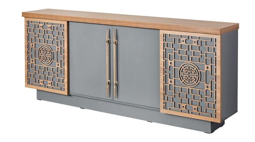 Office Furniture Set Casa Executive Desk Set (Desk, Coffee Table, Storage Units)
