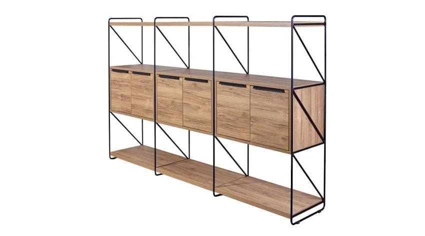 Office Furniture Set Fora Executive Desk Set (Desk, Table, Storage Drawer Cabinet)