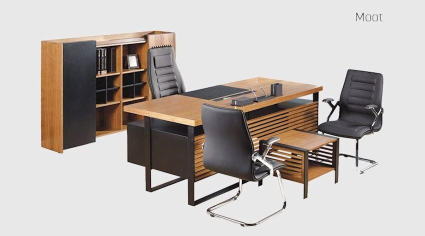 Office Furniture Set Moot Executive Desk Set