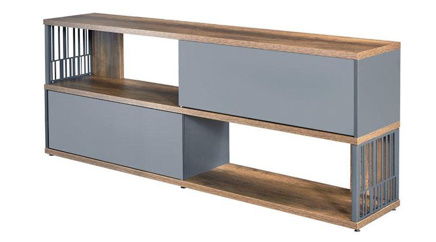 Office Furniture Set Motto Executive Desk Set (Desk, Table, Storage Drawer Cabinet)