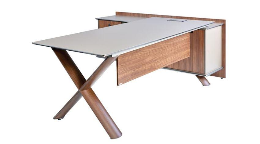 Office Furniture Set Wino Executive Desk Set (Desk, Table, Storage Drawer Cabinet)