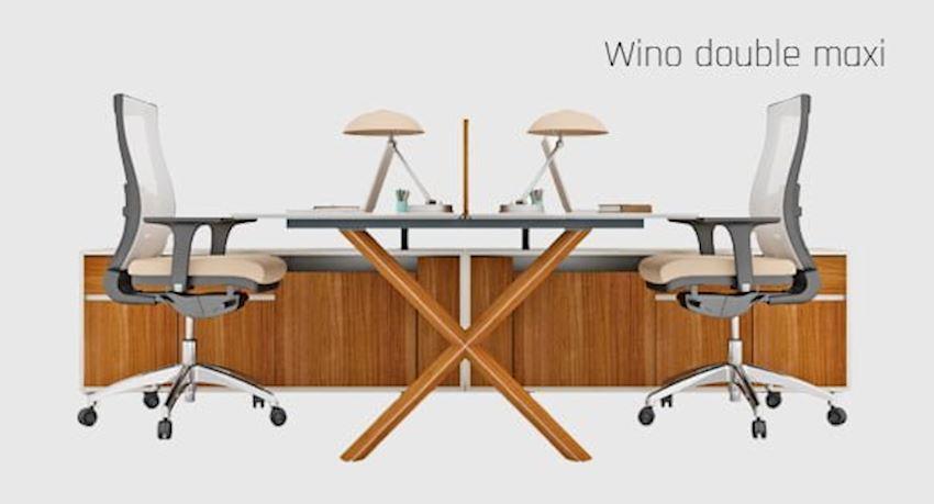 Office Furniture Wino Double Maxi Workstation Desk 2 Person Desk
