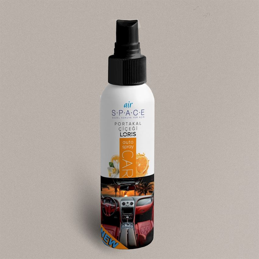 OKUYUCU 100 ml Orange Flower Spray Car Scent Fragrance & Deodorant