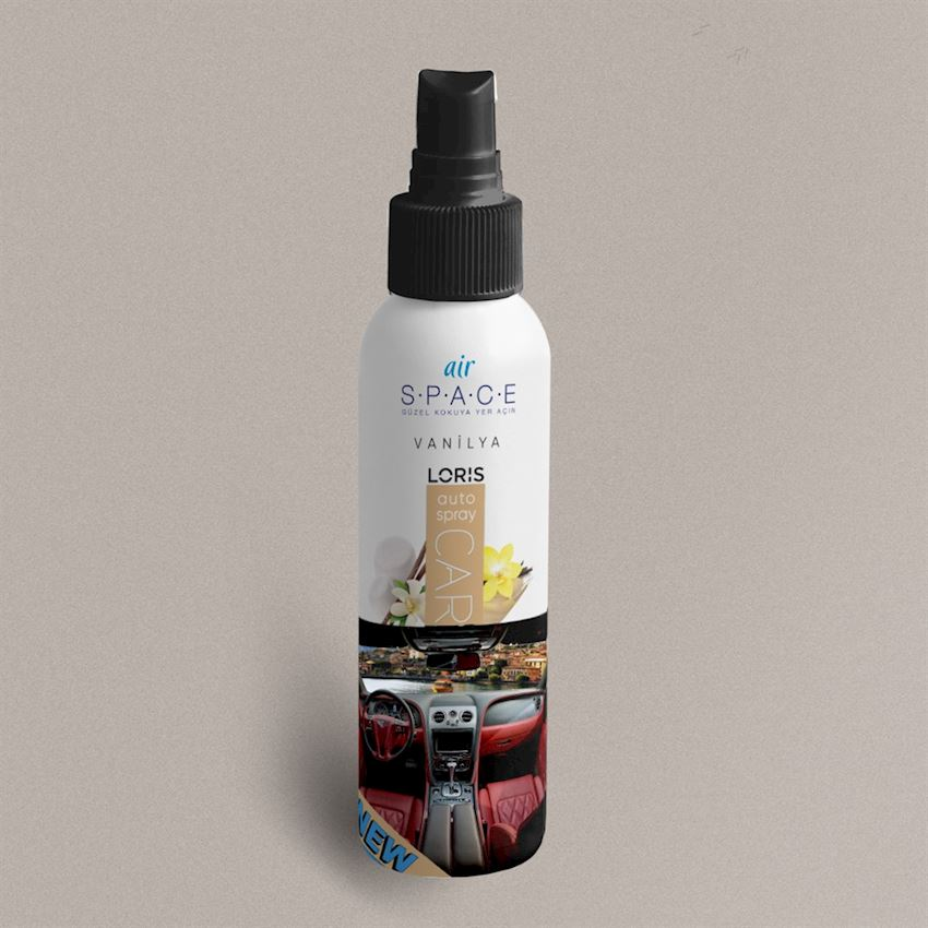 OKUYUCULAR 100 ml Vanilla Spray Car Scent Fragrance & Deodorant