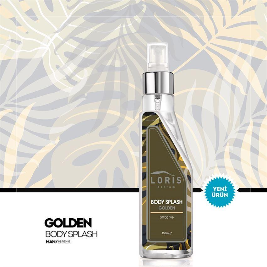 OKUYUCULAR Loris Golden Men Body Spray   Fragrance & Deodorant