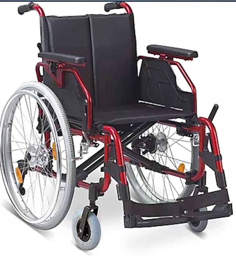 OP1342 Aluminum Standard Wheelchair