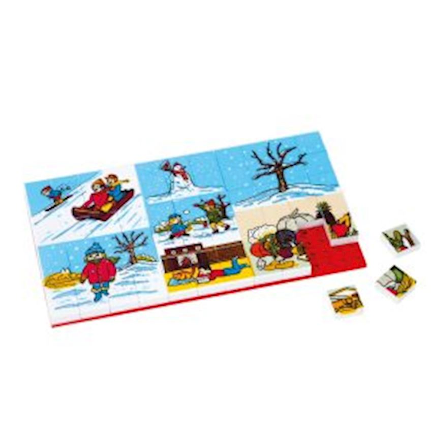 Other Educational Toys -3266 PUZZLE 67 PIECES -B4 WINTER