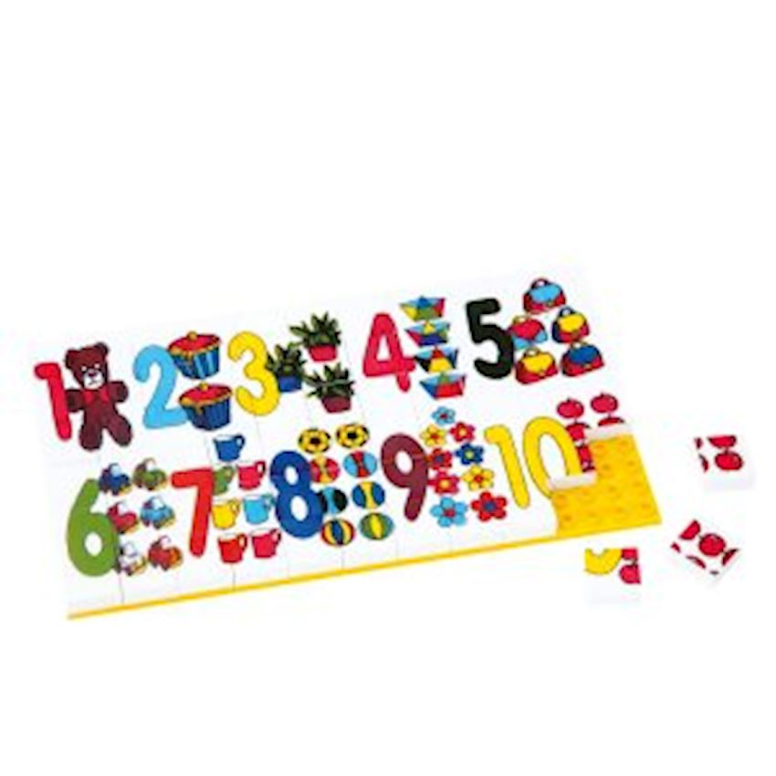 Other Educational Toys -3266 PUZZLE 67 PIECES - D3 HUGE NUMBERS