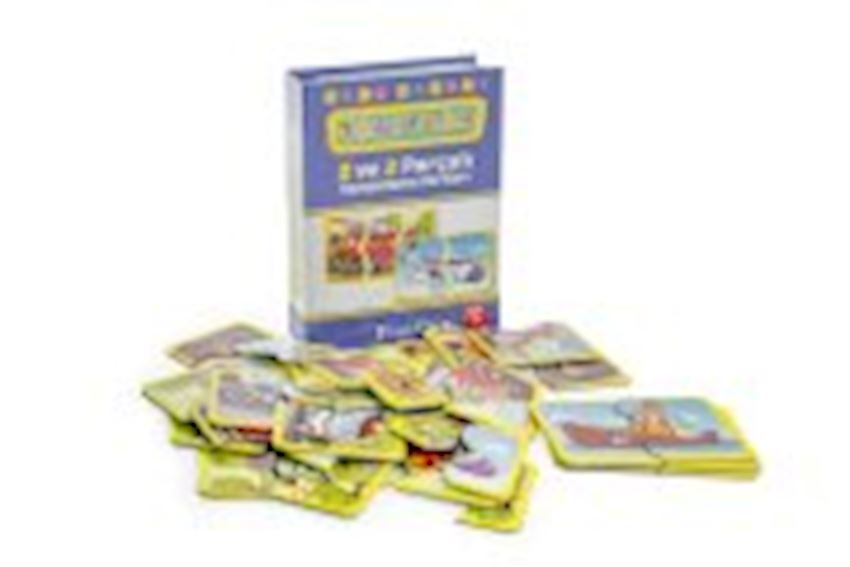 Other Educational Toys- FLASH CARDS 2 AND 3 PIECES VEHICLES