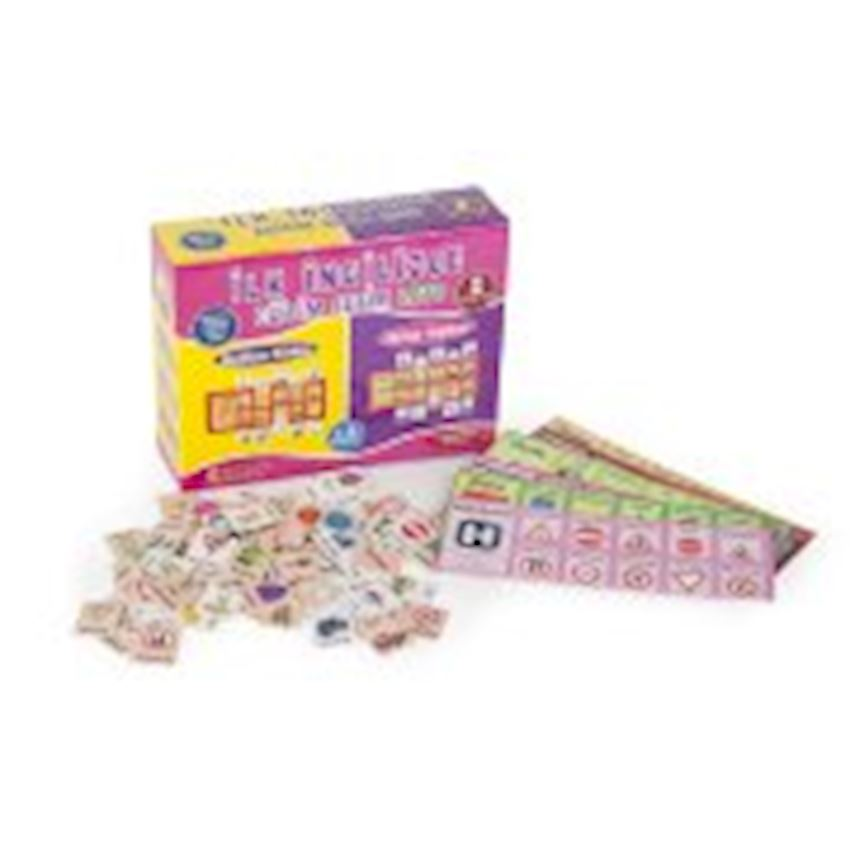 Other Educational Toys- TRAINING SETS FIRST ENGLISH LOTO
