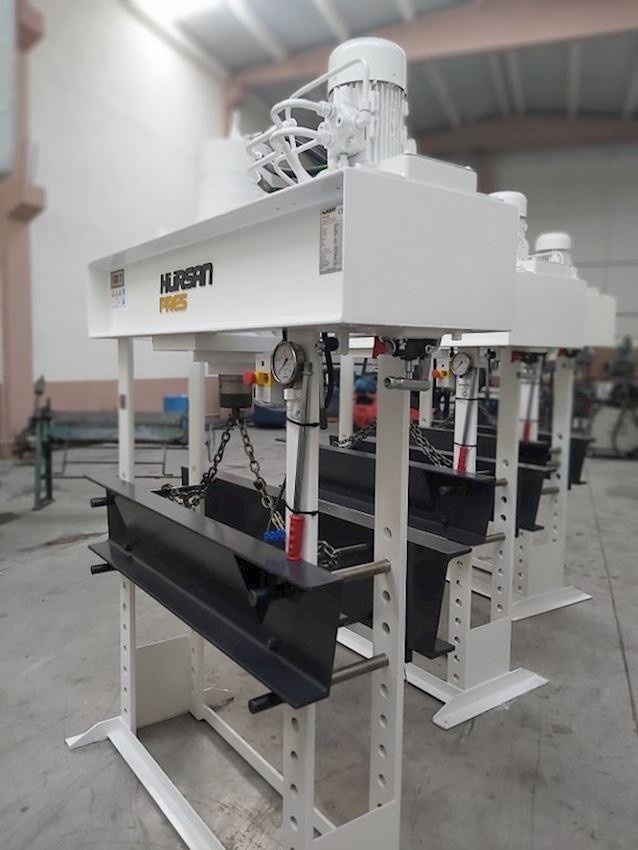 Other Machine Tool Equipment  100 Ton Gezer Kafa Kollu Motorlu Hidrolik Atölye Presi