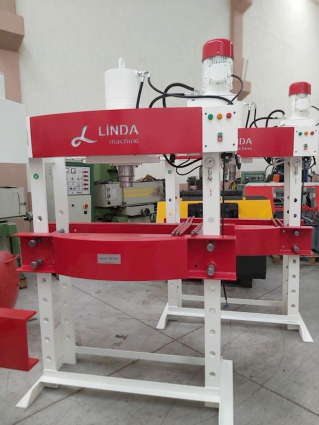 Other Machine Tool Equipment  100 Ton Kollu Motorlu Linda Machine Hidrolik Atölye Presi