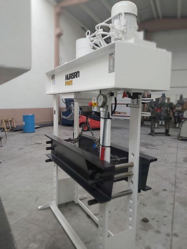 Other Machine Tool Equipment   150 Ton Gezer Kafa Kollu Motorlu Hidrolik Atölye Presi