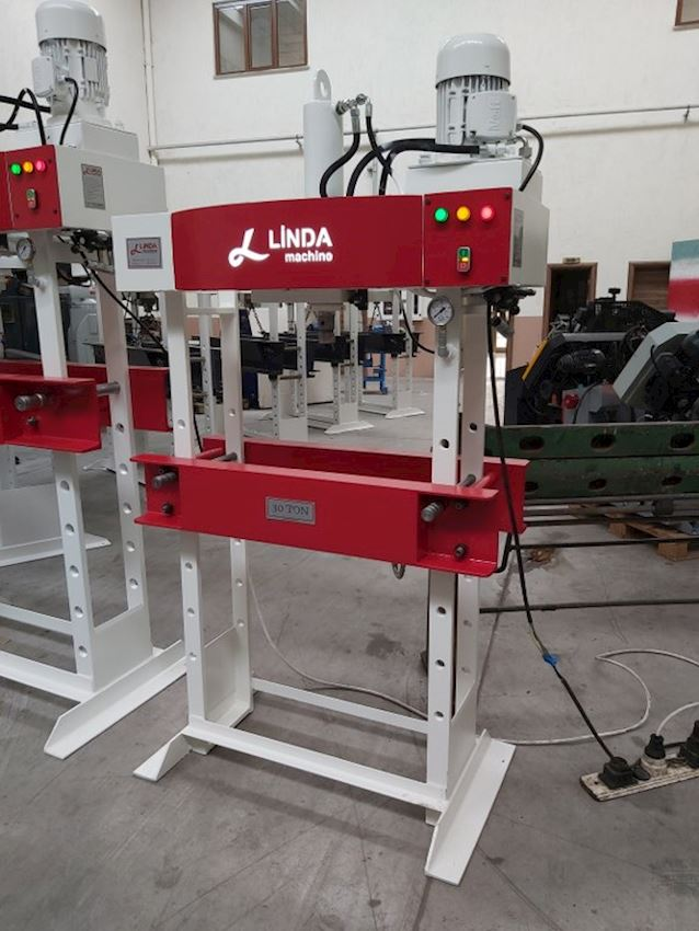 Other Machine Tool Equipment   30 Ton Kollu Motorlu Linda Machine Hidrolik Atölye Presi