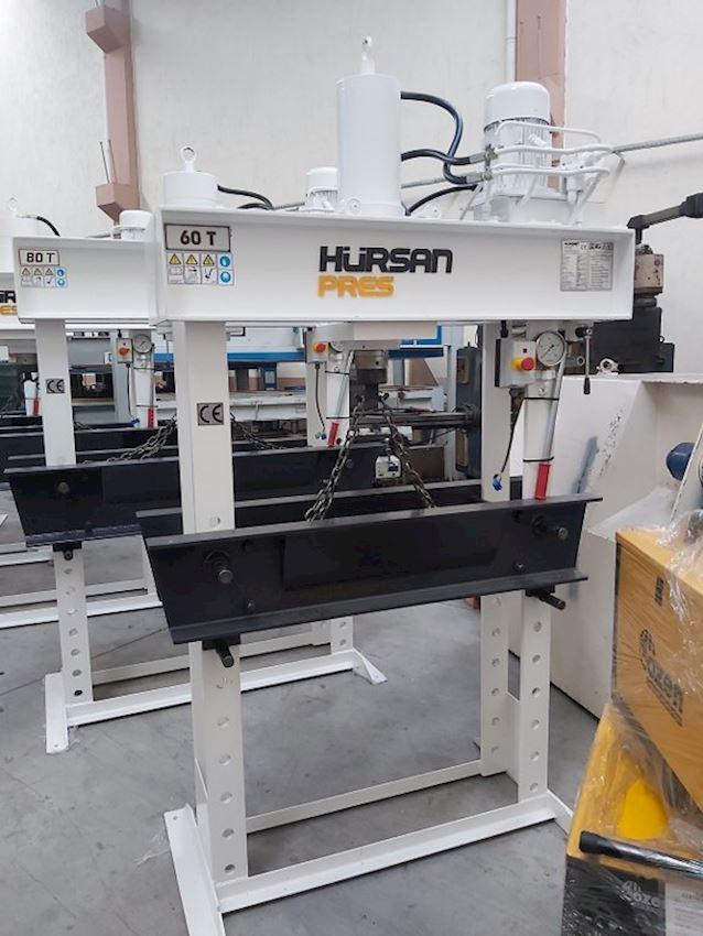 Other Machine Tool Equipment     60 Ton Gezer Kafa Kollu Motorlu Hidrolik Atölye Presi