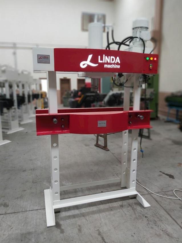 Other Machine Tool Equipment  60 Ton Kollu Motorlu Linda Machine Hidrolik Atölye Presi