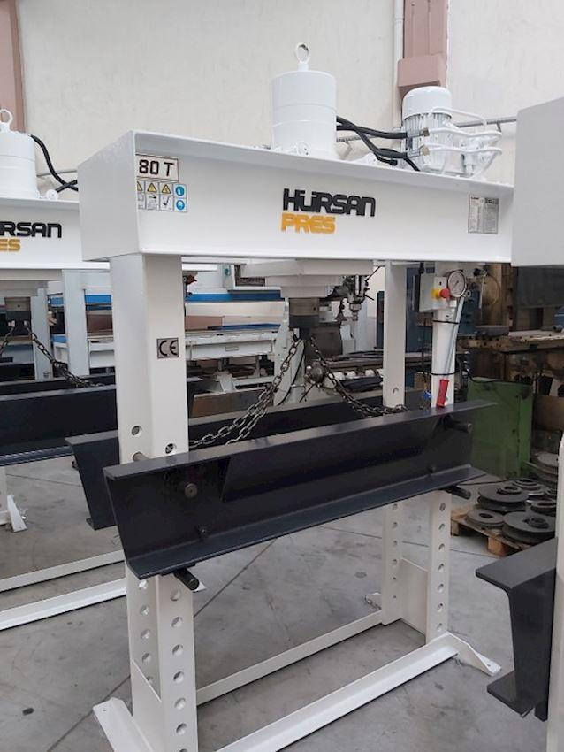 Other Machine Tool Equipment  80 Ton Gezer Kafa Kollu Motorlu Hidrolik Atölye Presi