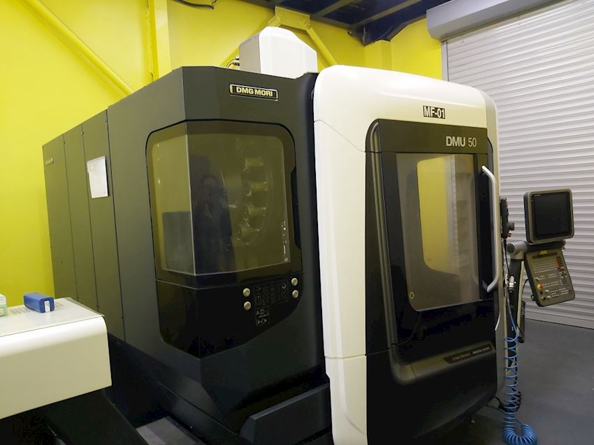 Other Machine Tool Equipment   Dmg Mori DMU 500 5 Eksen 2018 Model İşleme Merkezi