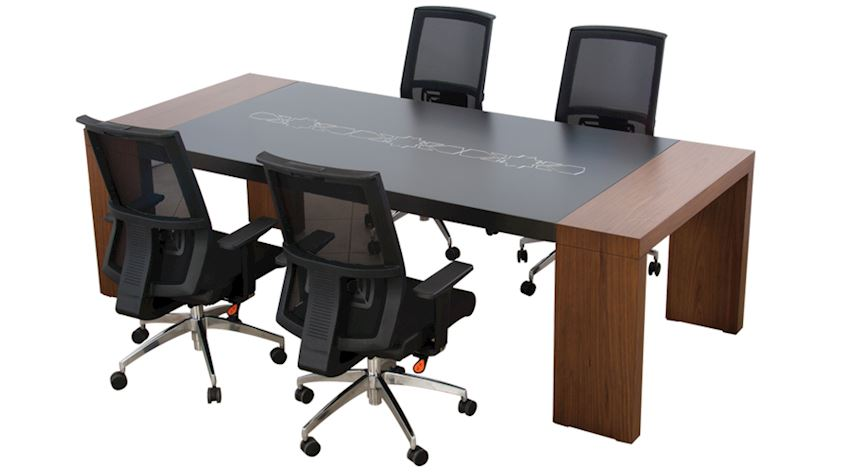 Ottoman Conference Table Office Meeting Room Table