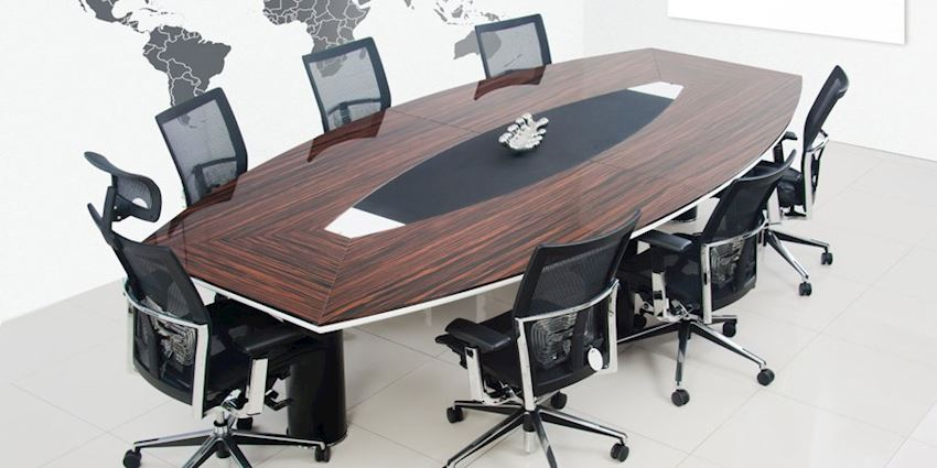 Oyster Conference Table Office Meeting Room Table