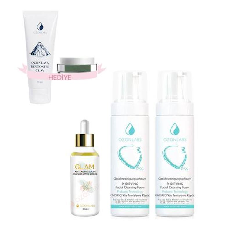 OZONLABS Glam Plus Package Skin Care Set