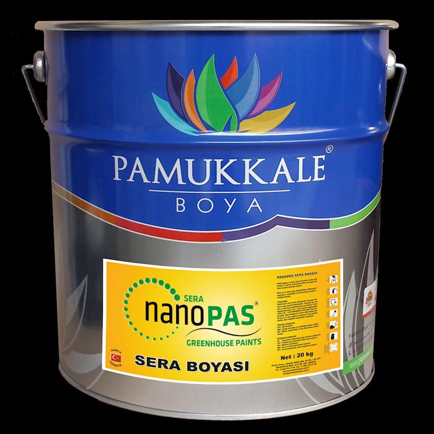 Pamukkale Nanopas Synthetic Green House Paint