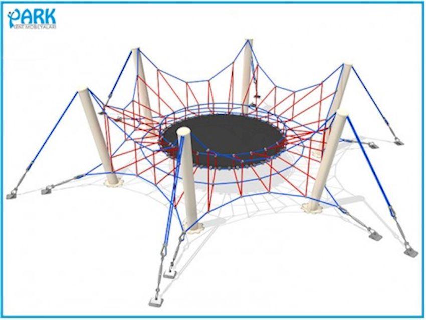 PARK Rope Playgrounds AP1714 Amusement Park