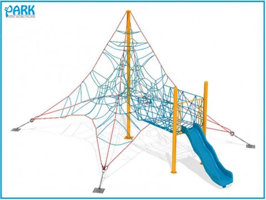 PARK Rope Playgrounds AP1715 Amusement Park