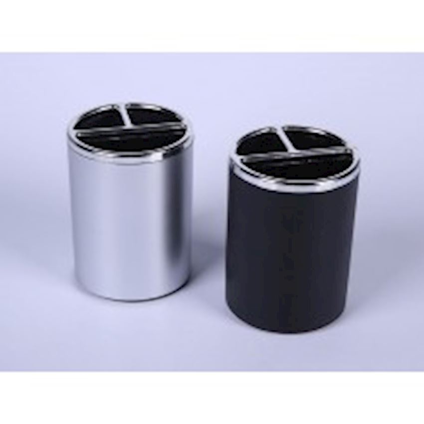 Penholder - Silver - Black Other Office & School Supplies