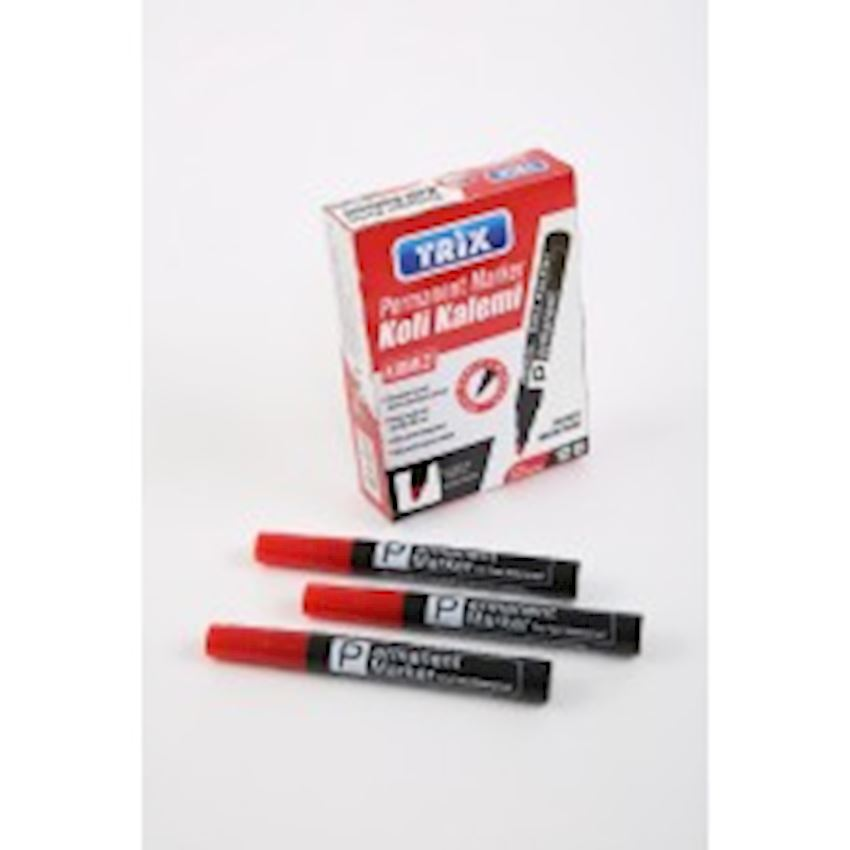 Permanent Marker Carton Pen Red Other Office & School Supplies