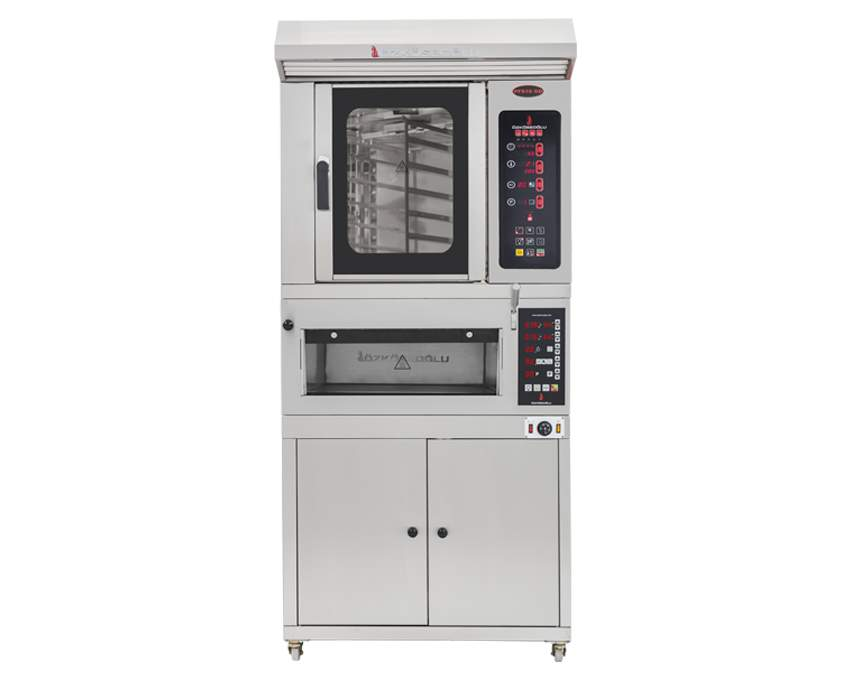 PFS-6 ROTARY CONV. OVEN + STONE BASE
