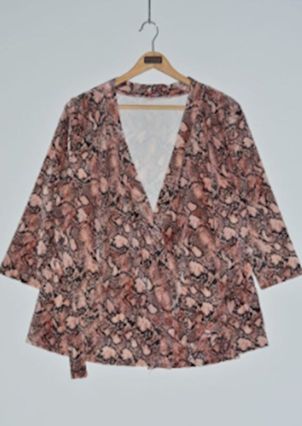Pink Patterned Jacket