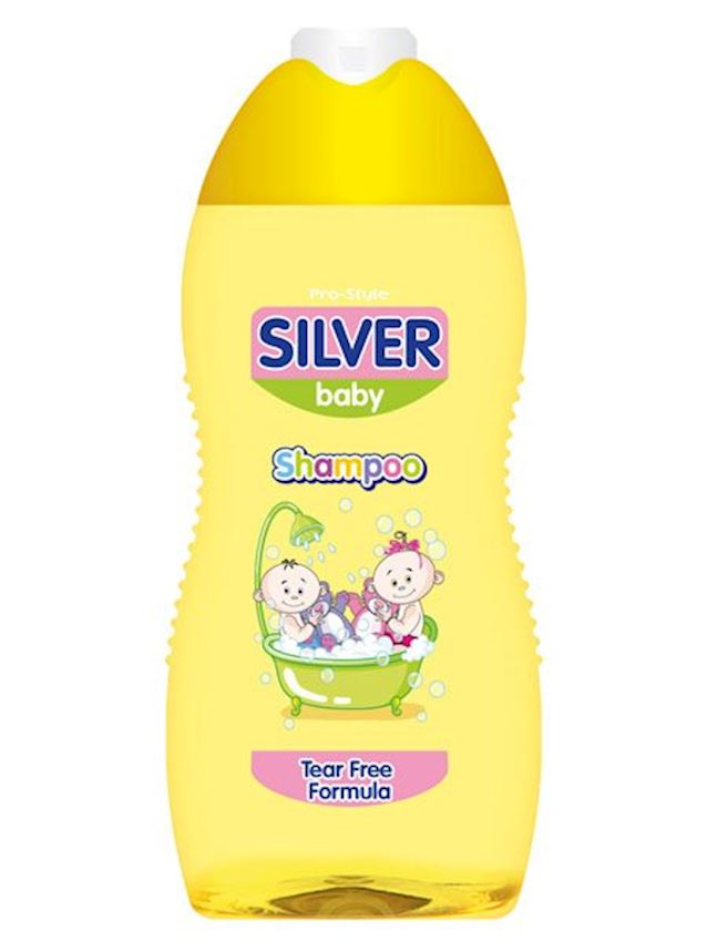 Pro-Style Silver Baby Shampoo 300ml Baby Care