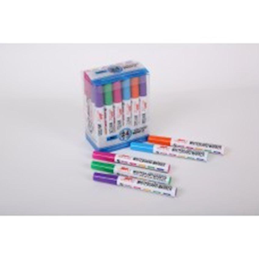 Pvc Box Wooden Pen 24 Pieces Rainbow Color Other Pens